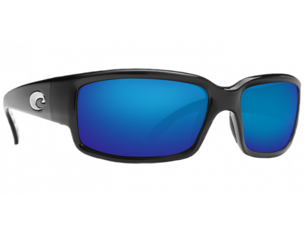 Costa Caballito Matte Black Frame Blue Mirrior 580G Lens Sunglasses - CL 11 OBMGLP