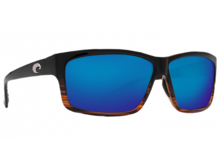 Costa Cut Coconut Fade Frame Blue Mirror 580P Lens Sunglasses - UT 52 OBMP