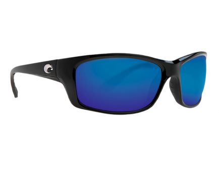 Costa Jose Black Frame Blue Mirror 580G Lens Sunglasses - JO 11 OBMGLP