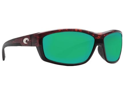 Costa Saltbreak Tortoise Frame Green Mirror 580P Lens Sunglasses - BK 10 OGMP