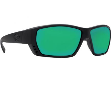 Costa Tuna Alley Black Frame Green Mirror 580G Lens Sunglasses - TA 01 OGMGLP