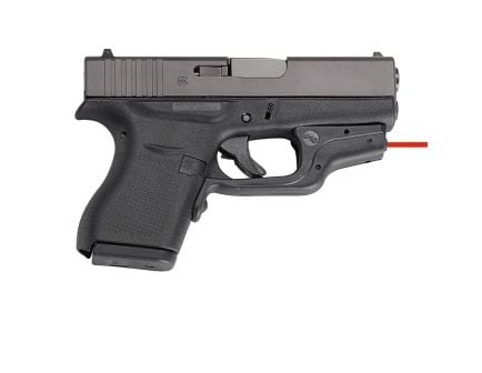 Crimson Trace Laserguard Red Laser For Glock 42 and 43 - LG-443
