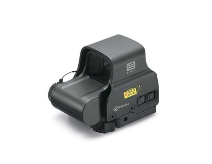 EOTech EXPS2 Holographic Sight with Green 68 MOA Ring 1 MOA Dot and QD Lever, Black - EXPS2-0GRN