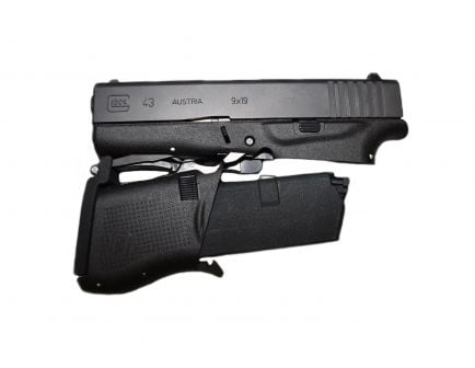 Full Conceal M3S Folding Glock 43 with 10 Round Magazine - M3SF