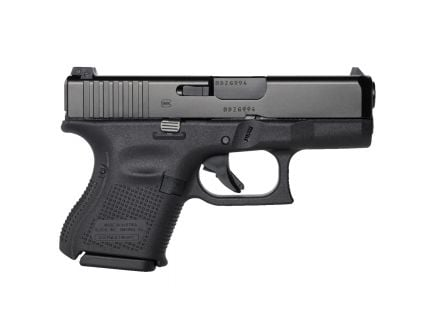 Glock 26 Gen 5 9mm Pistol, Black with Ameriglo Night Sights - UA2650301AB