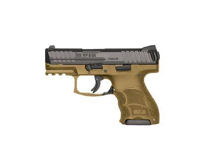 HK VP9SK 9mm Subcompact Pistol with Night Sights, Flat Dark Earth - 81000096