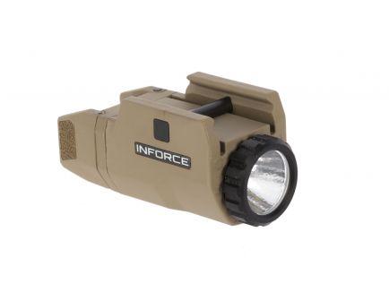DISC    Inforce APLc Compact Auto Pistol Light, FDE - AC-06-1