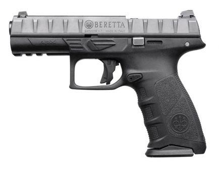 """Beretta APX RDO Full Size 9mm 4.25"""" Pistol, Black - JAXF92170"""