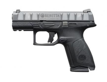 """Beretta APX Centurion 9mm 10 Round 3.7"""" Pistol, Black - JAXQ920"""