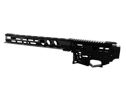 "Lead Star Arms Skeletonized LSA-15/AR-15 Receiver Set with 11"" Ravage Handguard, Black"