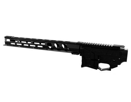 "Lead Star Arms LSA-15 AR-15 Receiver Set with 17"" Ravage Handguard, Black"