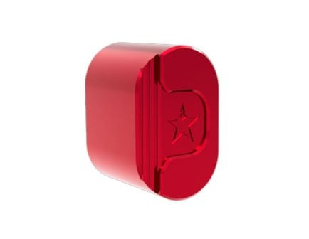 Lead Star Arms Ravage Magazine Release Button, Red