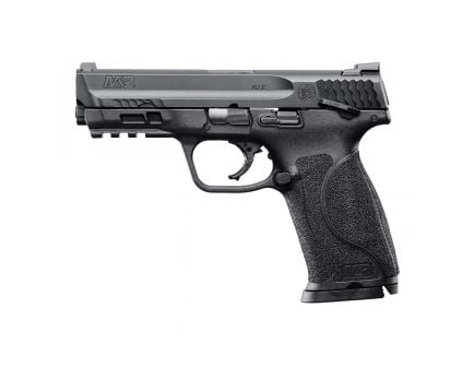 S&W M&P 2.0 9mm Pistol With Thumb Safety, Black - 11524