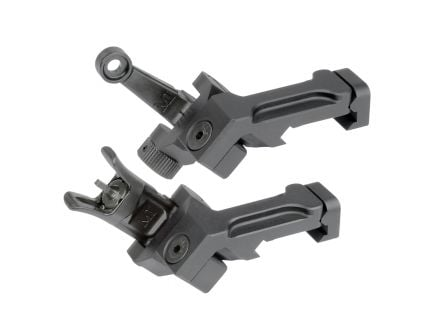 Midwest Industries 45 Degree Offset Combat Rifle Sights - MI-CRS-OSS