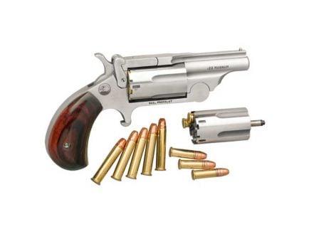 North American Arms Ranger II .22 Magnum Breaktop Revolver with .22LR Conversion Cylinder - NAA-22MC-BTII