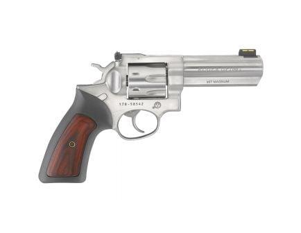 "Ruger GP 100 .357 Magnum 4.2"" Stainless Steel Revolver - 1771"