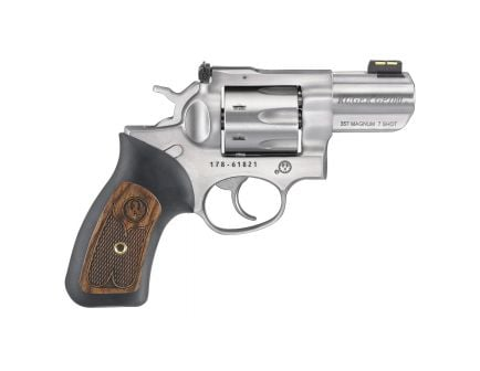 "Ruger GP 100 .357 Magnum 2.5"" Stainless Steel Revolver - 1774"