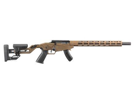 Ruger Precision Rimfire .22 LR Bolt Action Rifle, Burnt Bronze Cerakote - 8407