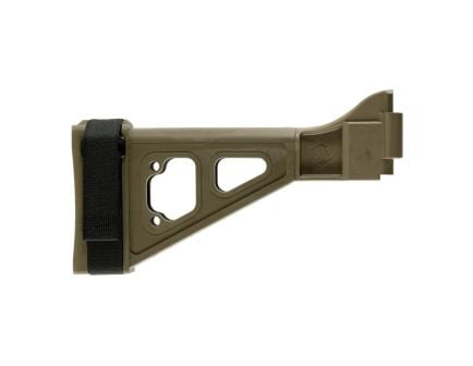 SB Tactical SBT Side Folding Brace, Flat Dark Earth - SBT-02-SB