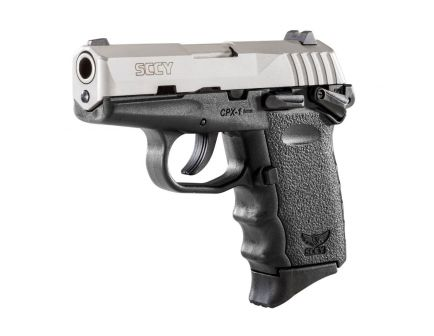 SCCY CPX-1 9mm Stainless / Black Pistol with Safety - CPX 1TT