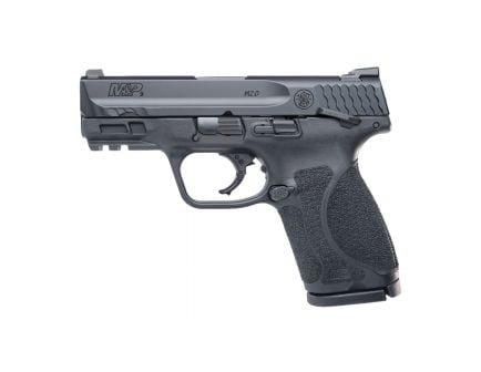 S&W M&P M2.0 Compact 9mm Pistol With Thumb Safety, Black - 11694