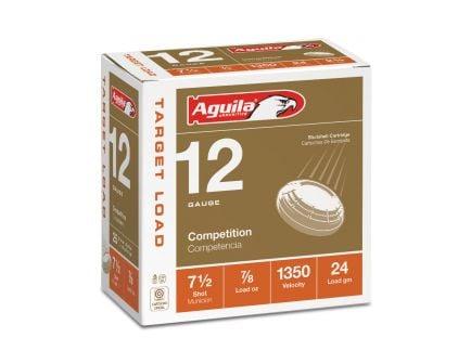 Aguila Competition 12 Gauge 2-3/4 inches 9 Shot 7/8 oz International Lead Shotshell, Birdshot, 25/Box - 1CHB1254