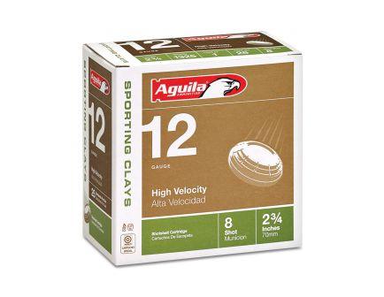 Aguila Competition 12 Gauge 2-3/4 inches 8 Shot 1-1/8 oz Sporting Clay Lead Shotshell, Birdshot, 25/Box - 1CHB1248