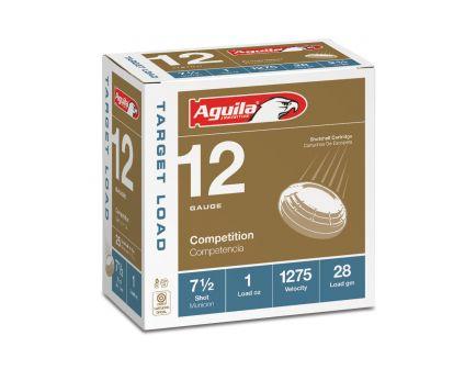 Aguila Competition 12 Gauge 2-3/4 inches 7-1/2 Shot 1-1/8 oz Sporting Clay Lead Shotshell, Birdshot, 25/Box - 1CHB1246