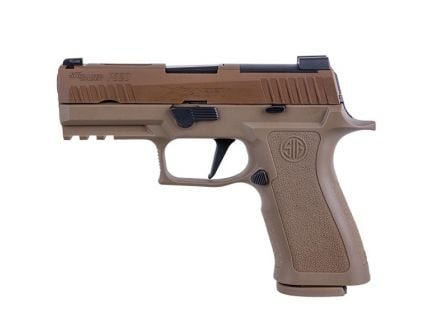 "Sig Sauer P320 X-Carry 9mm 3.9"" Pistol, Coyote Tan - 320XCA-9-BXR3-COY"