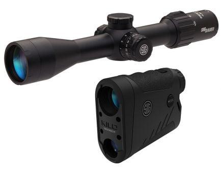 Sig BDX Combo - SIERRA 3BDX 4.5-14-x44 Riflescope & KILO1800BDX 6x22 Rangefinder - SOK18BDX01