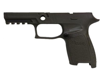 Sig Sauer P320 Compact 9mm / .40 Auto / .357 SIG Large Grip Module, Black - GRIPMODC943LGBLK