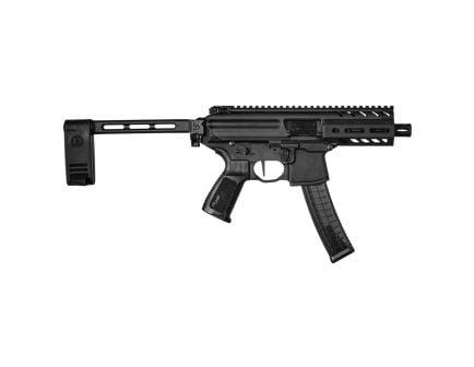 """Sig Sauer MPX PCB 9mm 4.5"""" Pistol, Black - PMPX-4B-9"""