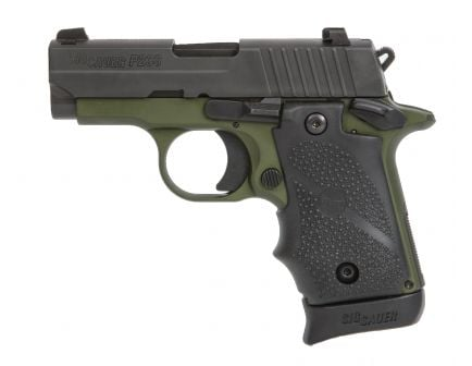 "Sig Sauer P238 .380 ACP 2.7"" Pistol, Army Green - 238-380-AGF"