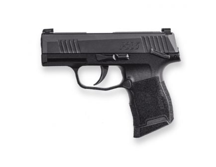 "Sig Sauer P365 9mm 3.1"" Manual Safety Pistol, Black - 365-9-BXR3-MS"