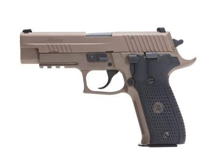 Sig Sauer P226R Emperor Scorpion 9mm Pistol, Flat Dark Earth - E26R-9-ESCPN