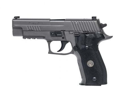 Sig Sauer P226 Legion SAO 9mm Pistol, Gray - E26R-9-LEGION-SAO