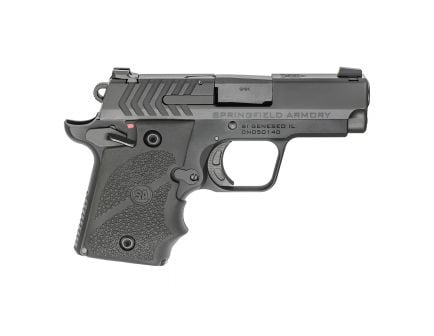 """Springfield 911 9mm 3"""" Pistol with Hogue Grips, Black - PG9119H"""