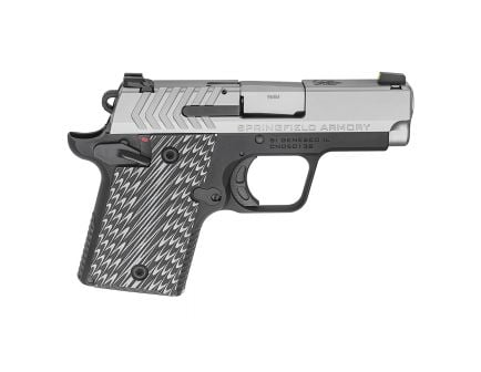 """Springfield 911 9mm 3"""" Stainless Pistol, Two Tone - PG9119S"""