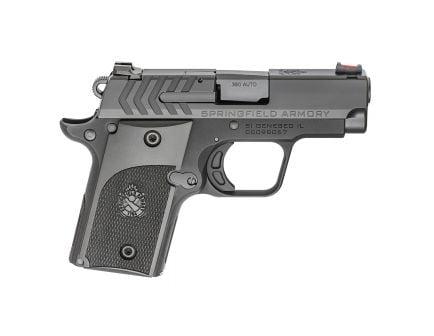 Springfield 911 Alpha Nitride .380 ACP Pistol, Black - PG9108