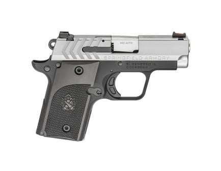 Springfield 911 Alpha Stainless .380 ACP Pistol, Two Tone - PG9108S
