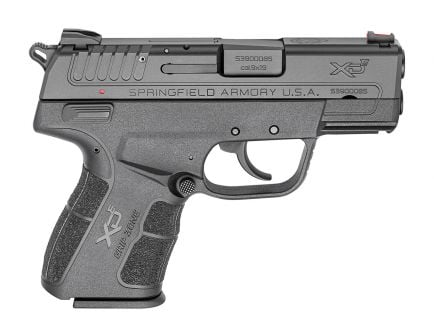 """Springfield Armory Pistol XDE 3.3"""" 9mm Black Essentials - XDE9339BE"""