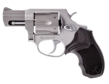Taurus 856 Ultra Lite .38spl 6 Shot Revolver, Matte Stainless Steel - 2-856029UL