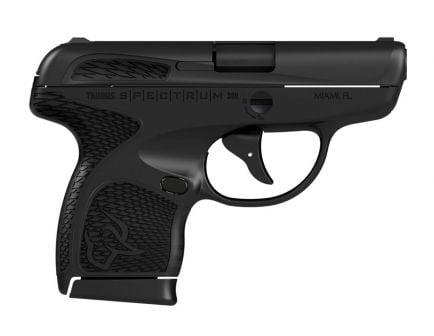Taurus Spectrum .380 ACP Pistol, Black - 1007031101
