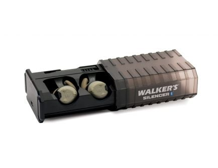 Walkers Silencer Bluetooth Earbuds, Rechargeable - GWP-SLCR-BT