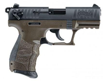 Walther P22QD .22 LR Pistol - 5120515