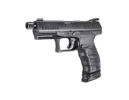 Walther PPQ Q4 Tac 9mm Pistol with Threaded Barrel, Black - 2825929