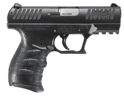 Walther CCP 9mm Pistol, Black - 5080300