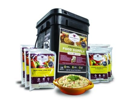 Wise Company 60 Serving Emergency Freeze Dried Entree Food Bucket - 01-160