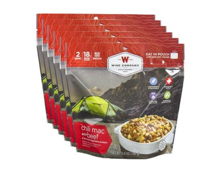 Wise Foods - Chili Mac with Beef Camping Food (Case of 6) - CASE -05-901