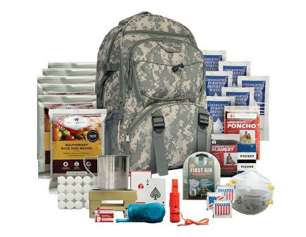 Wise Foods 5 Day 1 Person Survival Kit Camo Backpack - 01-622GSG